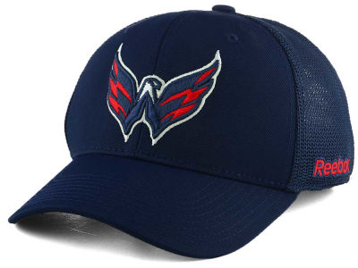 Washington Capitals Reebok NHL Structured Flex Cap