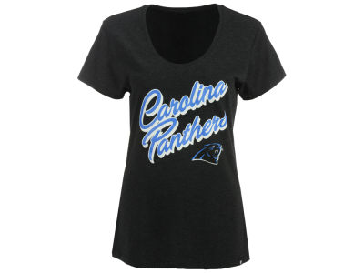 Carolina Panthers '47 NFL Women's Club Script T-Shirt