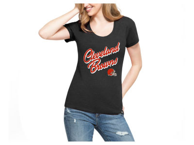 Cleveland Browns '47 NFL Women's Club Script T-Shirt