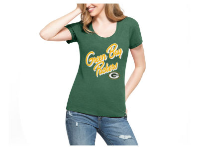 Green Bay Packers '47 NFL Women's Club Script T-Shirt