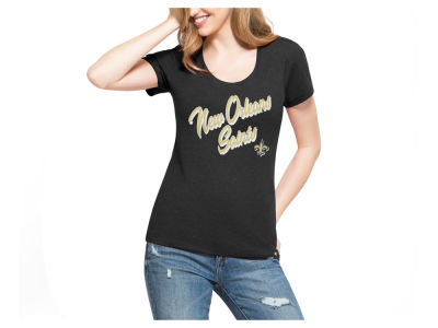 New Orleans Saints '47 NFL Women's Club Script T-Shirt