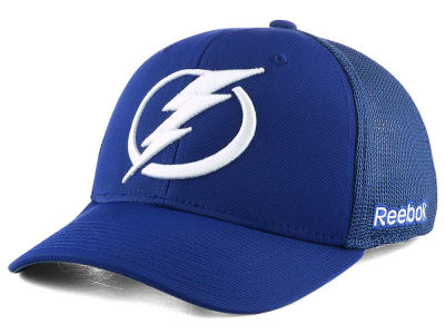 Tampa Bay Lightning Reebok NHL Structured Flex Cap