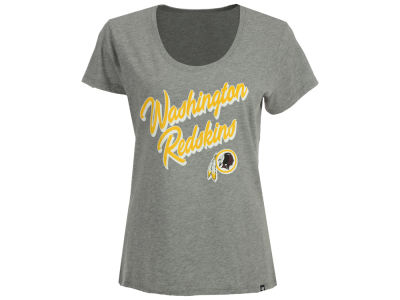 Washington Redskins '47 NFL Women's Club Script T-Shirt