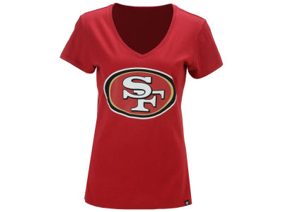 San Francisco 49ers '47 NFL Women's Splitter Logo T-Shirt