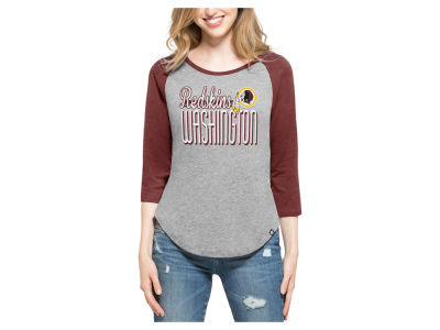 Washington Redskins '47 NFL Women's Club Block Raglan T-Shirt