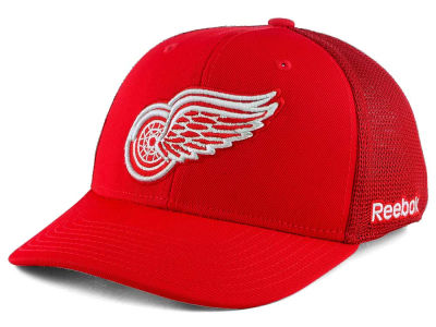 Detroit Red Wings Reebok NHL Structured Flex Cap