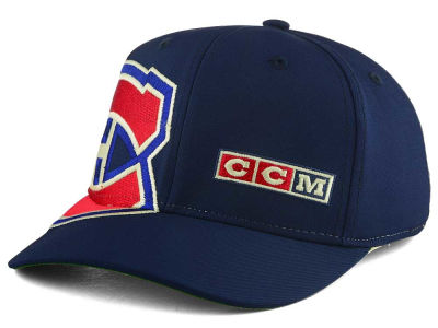 Montreal Canadiens Reebok NHL Current Structured Flex Cap