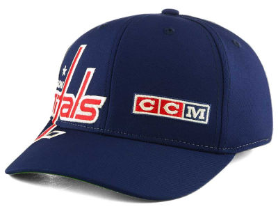 Washington Capitals Reebok NHL Current Structured Flex Cap