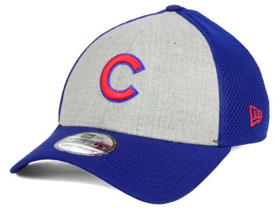 Chicago Cubs New Era MLB Heather Team Neo 39THIRTY Cap