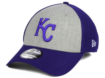 Kansas City Royals New Era MLB Heather Team Neo 39THIRTY Cap