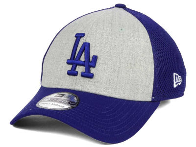 Los Angeles Dodgers New Era MLB Heather Team Neo 39THIRTY Cap