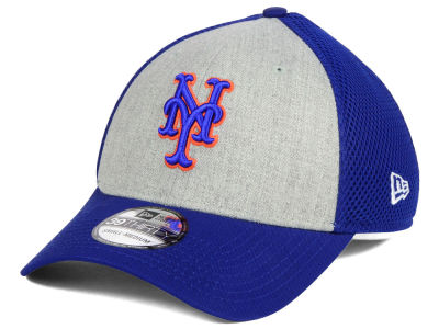 New York Mets New Era MLB Heather Team Neo 39THIRTY Cap