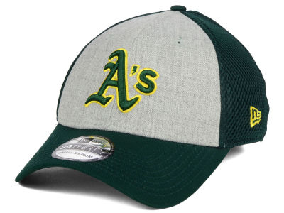 Oakland Athletics New Era MLB Heather Team Neo 39THIRTY Cap