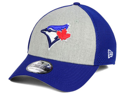 Toronto Blue Jays New Era MLB Heather Team Neo 39THIRTY Cap