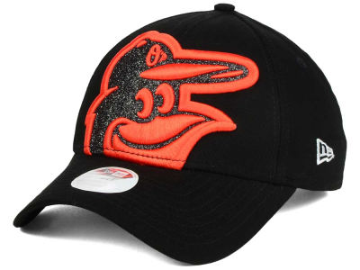 Baltimore Orioles New Era MLB Women's Glitter Glam 9FORTY Strapback Cap