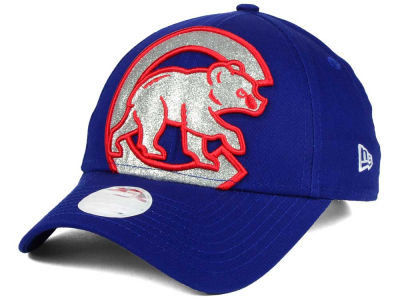 Chicago Cubs New Era MLB Women's Glitter Glam 9FORTY Strapback Cap