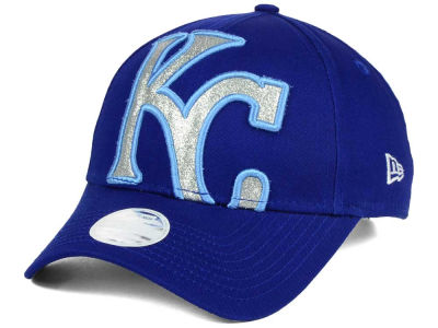 Kansas City Royals New Era MLB Women's Glitter Glam 9FORTY Strapback Cap