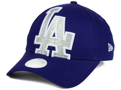 Los Angeles Dodgers New Era MLB Women's Glitter Glam 9FORTY Strapback Cap
