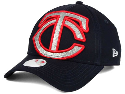Minnesota Twins New Era MLB Women's Glitter Glam 9FORTY Strapback Cap