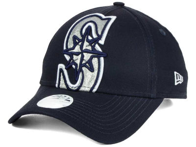 Seattle Mariners New Era MLB Women's Glitter Glam 9FORTY Strapback Cap