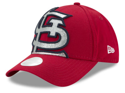 St. Louis Cardinals New Era MLB Women's Glitter Glam 9FORTY Strapback Cap