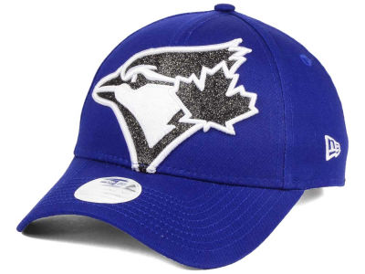 Toronto Blue Jays New Era MLB Women's Glitter Glam 9FORTY Strapback Cap