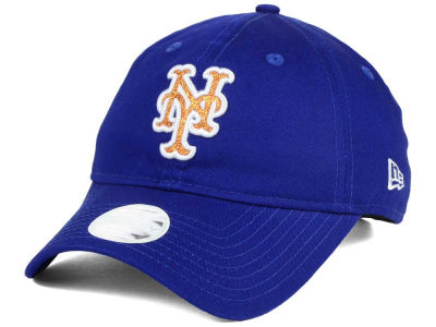New York Mets New Era Team Glisten 9TWENTY Cap