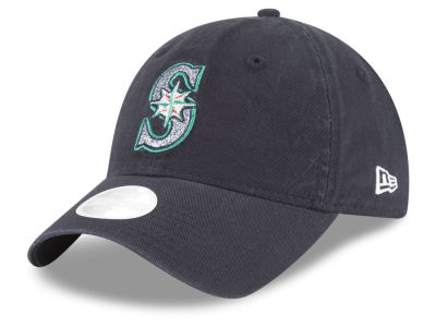 Seattle Mariners New Era Team Glisten 9TWENTY Cap
