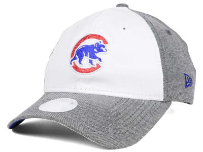 Chicago Cubs New Era MLB Sparkle Shade Strapback Cap