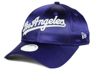Los Angeles Dodgers New Era MLB Satin Team Charmer 9FORTY Strapback Cap