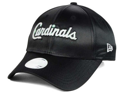 St. Louis Cardinals New Era MLB Satin Team Charmer 9FORTY Strapback Cap