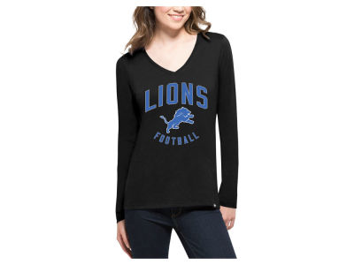 Detroit Lions '47 NFL Women's Splitter Arch Long Sleeve T-Shirt