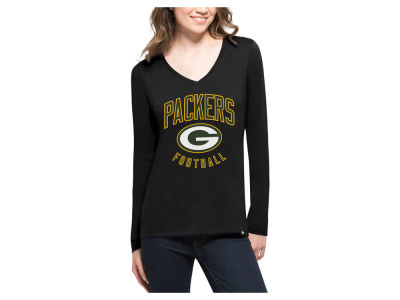 Green Bay Packers '47 NFL Women's Splitter Arch Long Sleeve T-Shirt