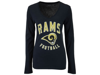 Los Angeles Rams '47 NFL Women's Splitter Arch Long Sleeve T-Shirt