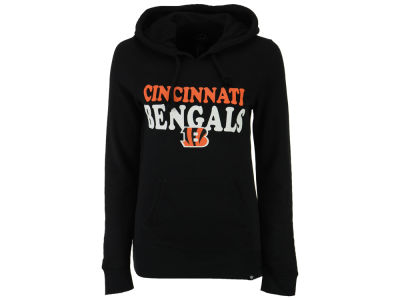 Cincinnati Bengals '47 NFL Women's Headline Hooded Sweatshirt