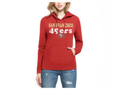 San Francisco 49ers '47 NFL Women's Headline Hooded Sweatshirt