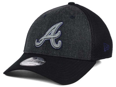 Atlanta Braves New Era MLB Heathered Neo 39THIRTY Cap