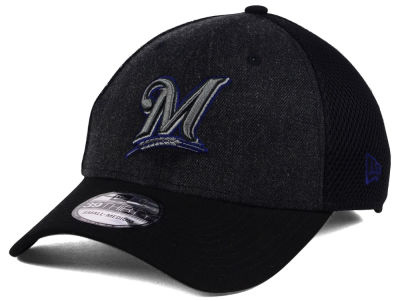 Milwaukee Brewers New Era MLB Heathered Neo 39THIRTY Cap