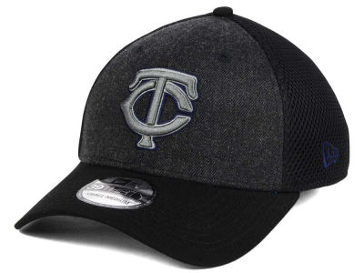 Minnesota Twins New Era MLB Heathered Neo 39THIRTY Cap