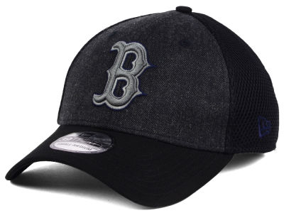 Boston Red Sox New Era MLB Heathered Neo 39THIRTY Cap