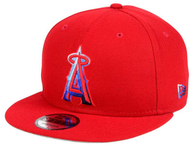 Los Angeles Angels New Era MLB Color Dim 9FIFTY Snapback Cap