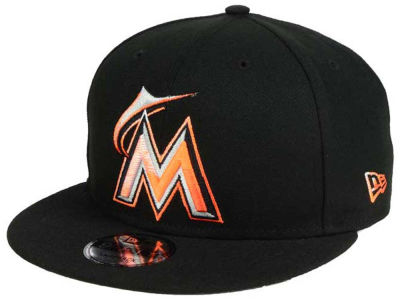 Miami Marlins New Era MLB Color Dim 9FIFTY Snapback Cap