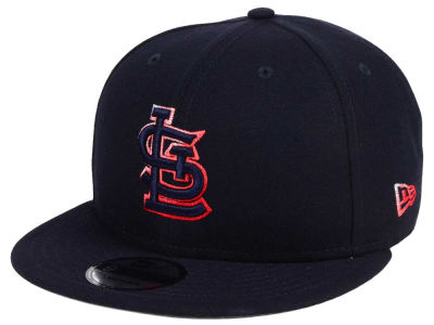 St. Louis Cardinals New Era MLB Color Dim 9FIFTY Snapback Cap