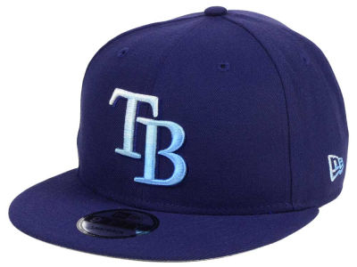 Tampa Bay Rays New Era MLB Color Dim 9FIFTY Snapback Cap