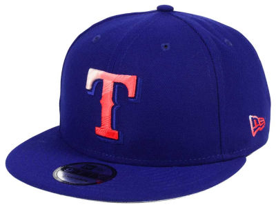 Texas Rangers New Era MLB Color Dim 9FIFTY Snapback Cap