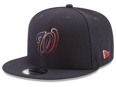 Washington Nationals New Era MLB Color Dim 9FIFTY Snapback Cap