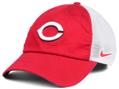 Cincinnati Reds Nike MLB Dri-Fit Mesh Swoosh Adjustable Cap