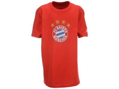 Bayern Munich Outerstuff Club Team Youth Crest Logo T-Shirt