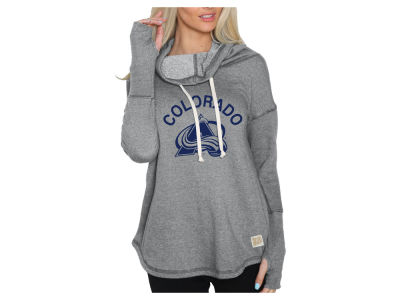 Colorado Avalanche NHL Women's Glitter Pullover Sweatshirt
