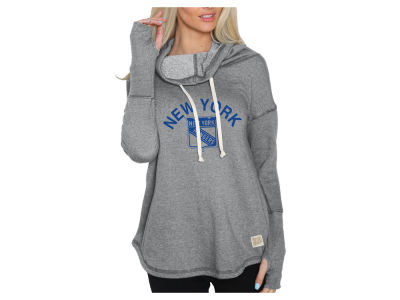 New York Rangers NHL Women's Glitter Pullover Sweatshirt
